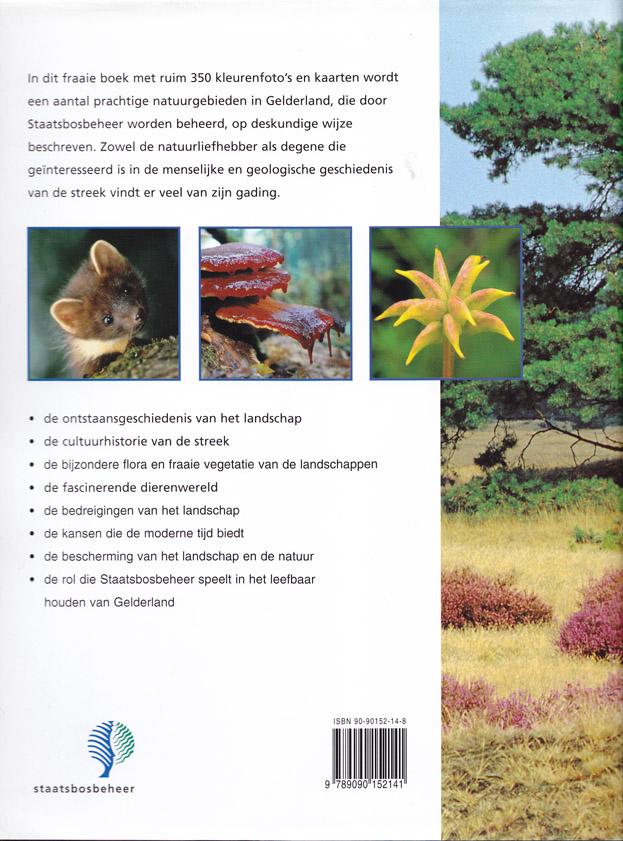 Achterkant van het boek Bomen, Beesten en Buitens
