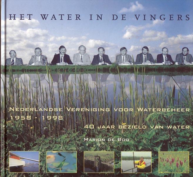 Cover van het boek Het water in de vingers