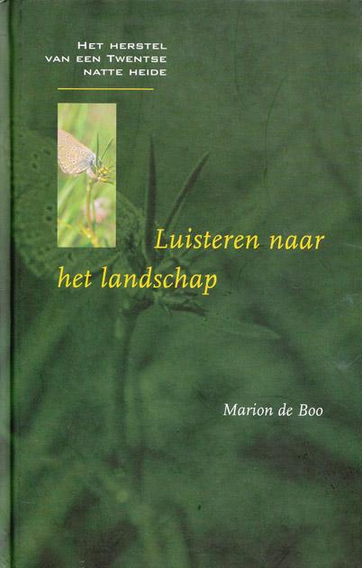 Cover van het boek Luisteren naar het landschap