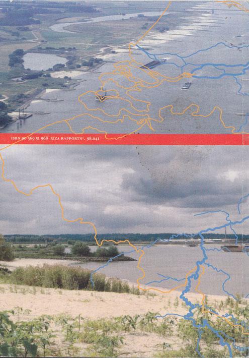 Achterkant van het boek Twee rivieren