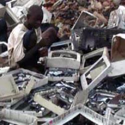 De digitale dump in Afrika